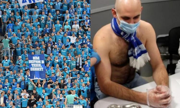 Momenti Di Gioia: lo Zenit regala il vaccino Sputnik V a chi compra il biglietto per la partita!