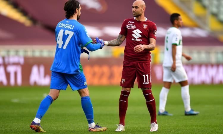 Torino, Zaza: 'Finalmente abbiamo reagito. Nicola ci fa sentire tutti importanti, la mia esultanza...'