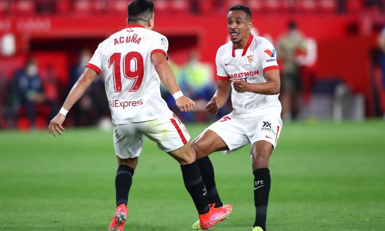 Liga: decide Acuna, il Siviglia vince con l'Atletico. Real Madrid a -3, lunedì il Barcellona può portarsi a -1 dalla vetta