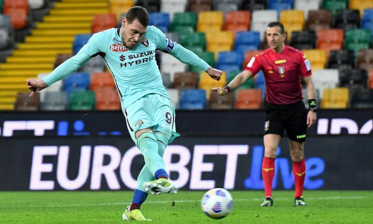Serie A: pazzo Spezia, 3-2 sul Crotone in rimonta! Belotti su rigore: il Torino vince 1-0 a Udine, +5 sul Cagliari