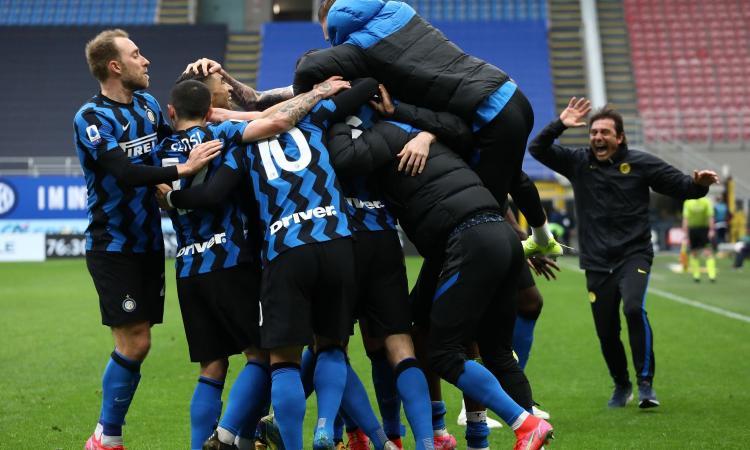 Inter, scudetto in 5 mosse per giocare con la Juve con il tricolore in tasca