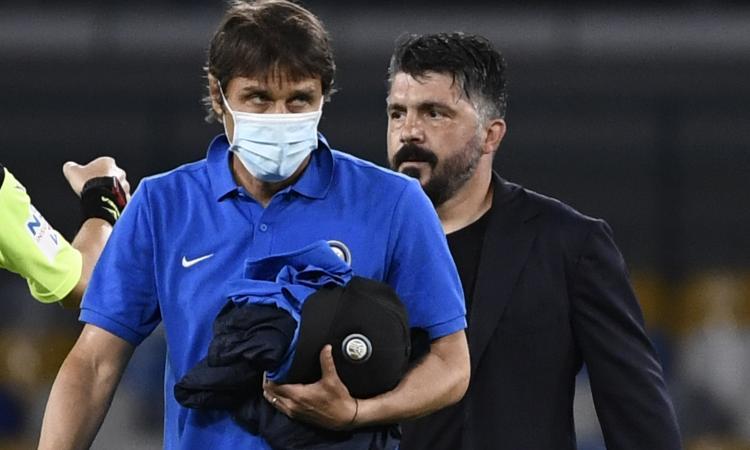 L'Inter ha in tasca lo scudetto, ma può perdere punti: il Napoli sta bene e gioca meglio