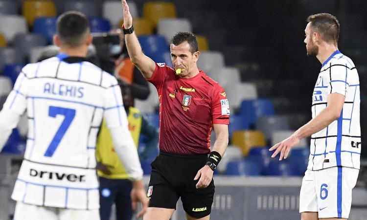 Chiesa a CM: 'Napoli-Inter, giusto non dare il rigore. Rosso esagerato a Diawara'