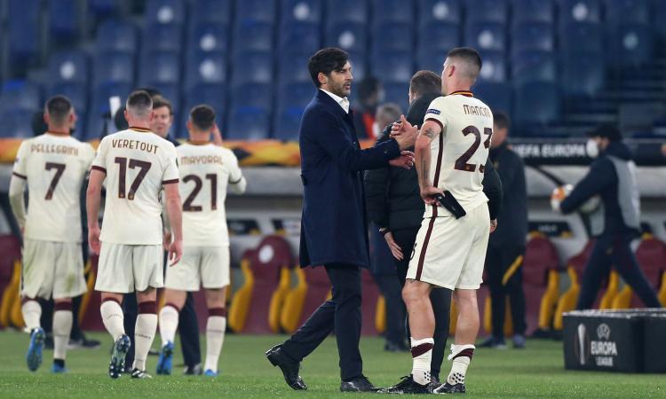 Fonseca in semifinale: non è la Champions, ma è ancora la Roma l'unica a dare speranza al calcio italiano