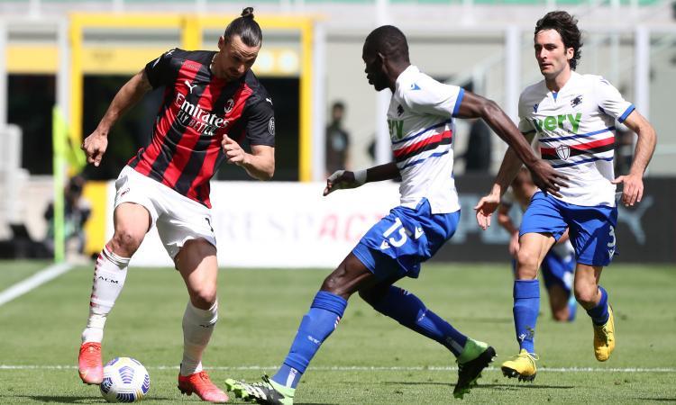 Milan, test per Ibrahimovic: obiettivo l'inizio della Serie A contro la Samp