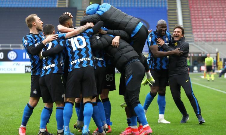 L'INTER E' CAMPIONE D'ITALIA: E' LO SCUDETTO NUMERO 19