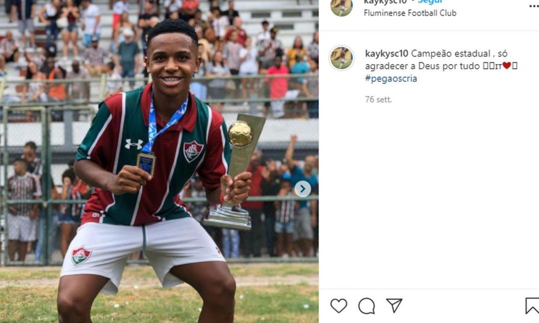 Kayky, il nuovo Pelè e l'emozione del calcio