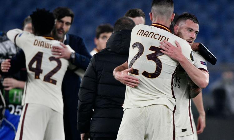 Roma in semifinale di Europa League! Brobbey spaventa, Dzeko risolve: 1-1 con l'Ajax, ora lo United