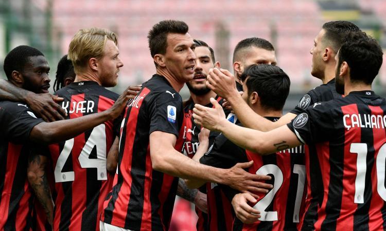 Il Milan fatica ma rompe il tabù San Siro: 2-1 al Genoa, Pioli difende il 2° posto