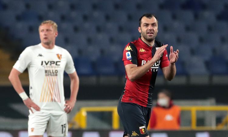 Genoa, le pagelle di CM: Pandev timbra quota 100, Zappacosta dura un tempo