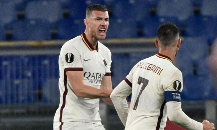Roma-Ajax, le pagelle di CM: Calafiori e cuori, Dzeko torna Re. Pellegrini, prova da capitano