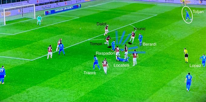 Il 100% di passaggi riusciti con l'Inter, i gol al Milan: le numerose abilità di Raspadori, il 2000 del futuro