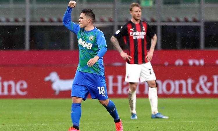 Raspadori, che doppietta al Milan: 'Ambidestro come Brehme, ho una simpatia per l'Inter'
