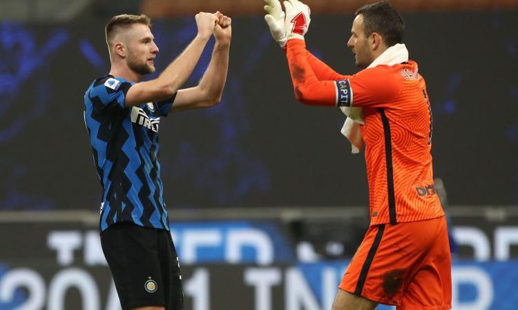 L'Inter ha fatto il vuoto da quando ha blindato la difesa: il gap con la Juve e il vantaggio strategico sul mercato