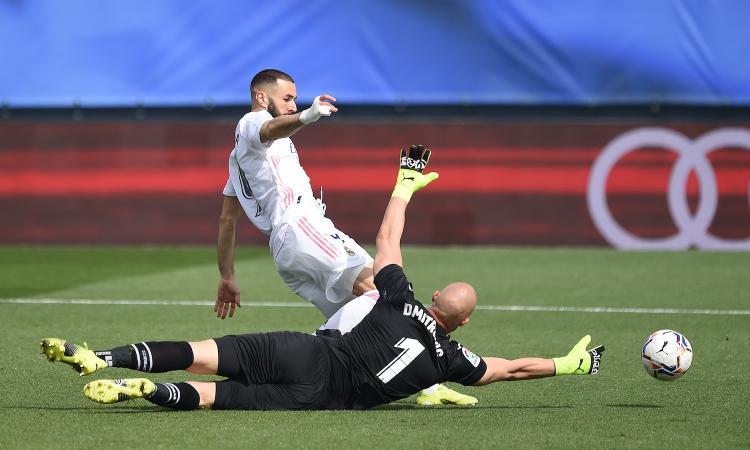 Liga: Asensio e Benzema, il Real vince 2-0 contro l'Eibar e va a -3 dall'Atletico