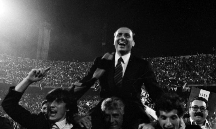 Quando era Berlusconi a sognare la Superlega con Milan e Real
