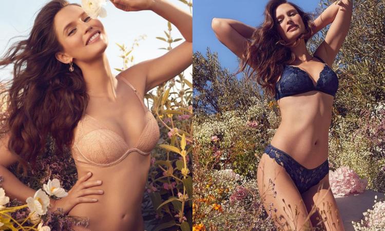 Bianca Balti strepitosa in intimo 'eco-friendly' FOTO