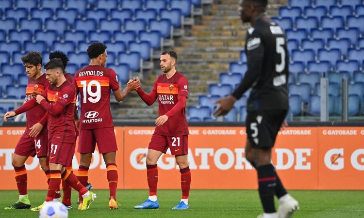 Mayoral stende il Bologna: 1-0, la Roma torna a vincere in campionato