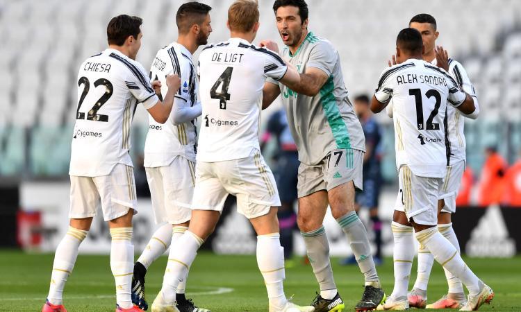 Juve, Buffon: 'Si può cadere, non si può smettere di combattere'