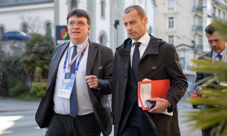 Ceferin a Juve e Milan: 'Se non lasciano la Superlega, niente Champions'
