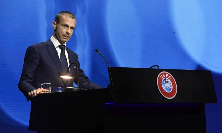 Ancora Ceferin: 'Superlega? Mai esistita, forse la giocano solo Juve e Real... Mi hanno deluso tutti'