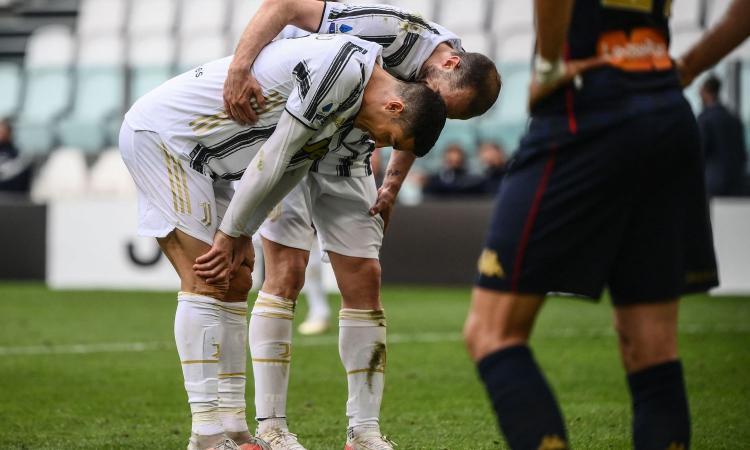 Juvemania: Conte e Marotta cancellano un sogno. Contro il Genoa l'ennesimo blackout, con l'Atalanta così non basta