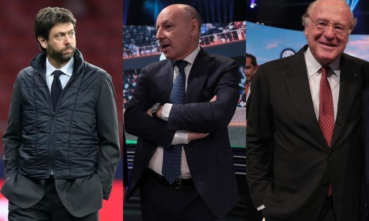 Lega in fermento, la proposta: fuori Juve, Inter e Milan dalla Serie A