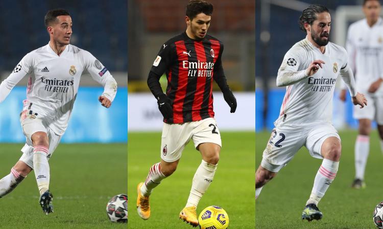 Si scalda l'asse Milan-Real: dall'idea Lucas Vazquez al rebus Brahim. Le voci su Isco...