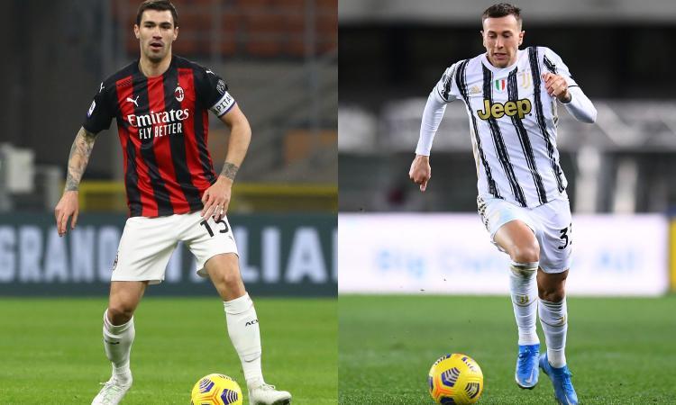 Due problemi, una soluzione: che idea lo scambio Romagnoli-Bernardeschi tra Juve e Milan