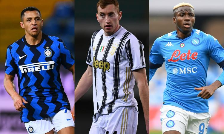 Serie A: oggi in campo Inter, Juve, Lazio, Roma, Napoli e Atalanta. Le probabili formazioni e dove vederle in tv