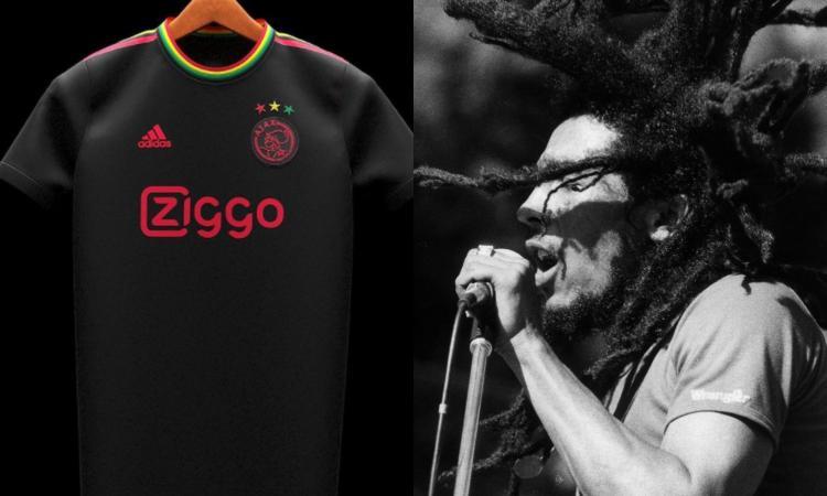'Three little birds': l'Ajax e la nuova maglia dedicata a Bob Marley
