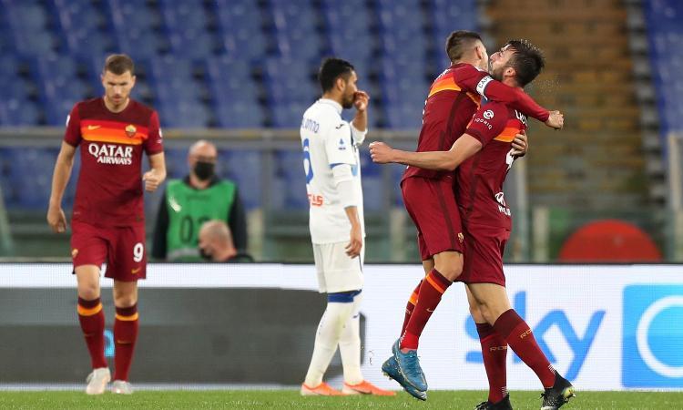 L'Atalanta spreca di tutto, Gollini evita la frittata a Roma: Gasp fallisce il sorpasso al Milan