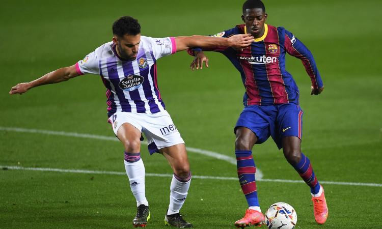 Juve su Dembélé, la posizione del Barcellona