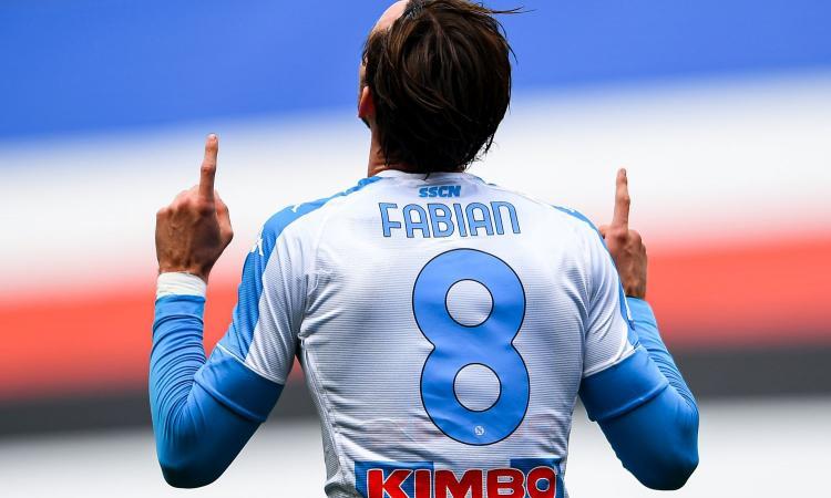 Napoli, è l'estate di Fabian. Barcellona e Real Madrid pronte all'assalto dopo l'Europeo