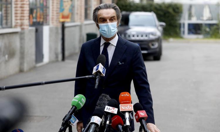 Lombardia, Fontana: 'Erano prevedibili gli assembramenti per lo scudetto dell'Inter, che non si ripetano più'