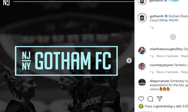 UFFICIALE: nasce il Gotham FC, ma Batman non c'entra