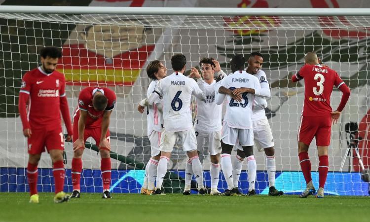 Il Real Madrid resiste a Liverpool: 0-0, Zidane in semifinale con il Chelsea