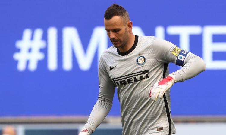 Inter, Handanovic è un problema