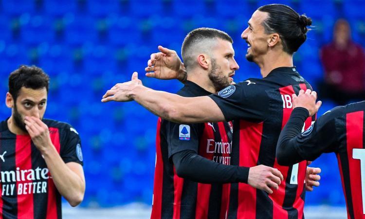 Milan, l'incredibile dato sui gol di Rebic: 16 delle 17 reti in rossonero sono...