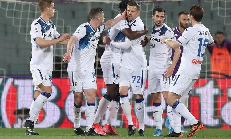 Fiorentina-Atalanta 2-3: Gasperini non perde il treno Champions e resta 4°. La prossima c'è la Juve...