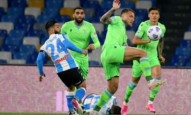 Napoli-Lazio 5-2: il tabellino