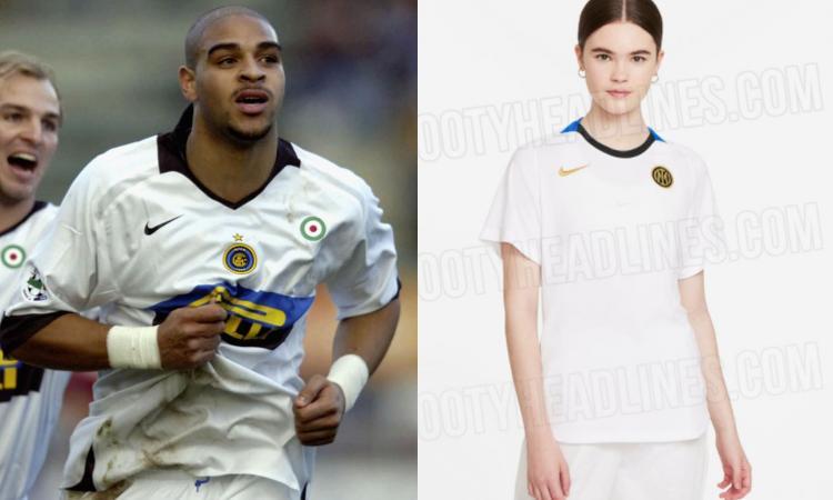Inter, indiscrezioni sulla seconda maglia: il colletto richiama quella del 2005 FOTO
