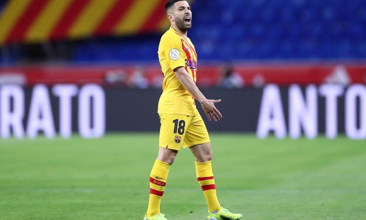 Inter, il Barcellona vuole una contropartita per Jordi Alba