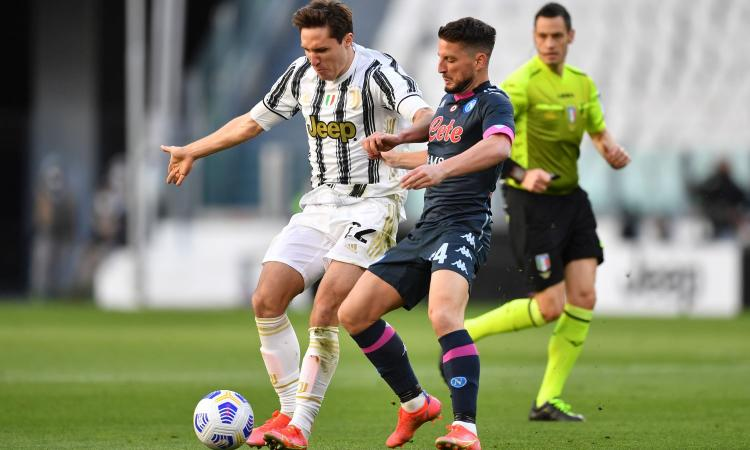 Juventus-Napoli 2-1: il tabellino