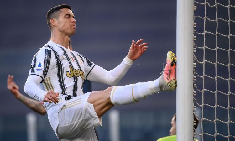 La Juve e il fastidio di Ronaldo: dai flessori alla barriera, ma Pirlo ha bisogno di lui