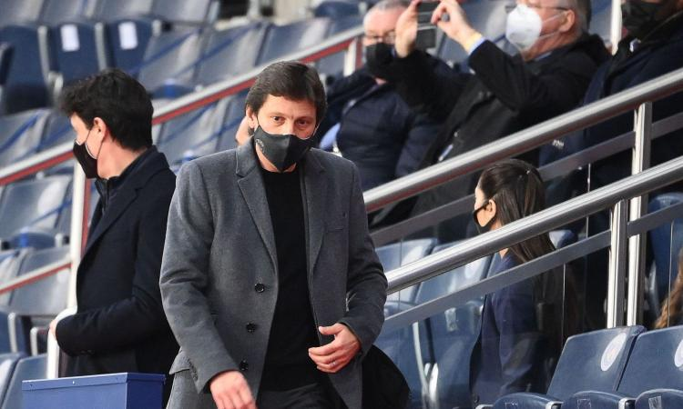 Inter, Leonardo prova lo scippo a zero