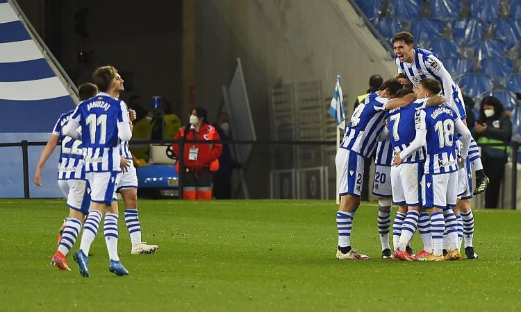 Liga: Real Sociedad-Athletic Bilbao 1-1