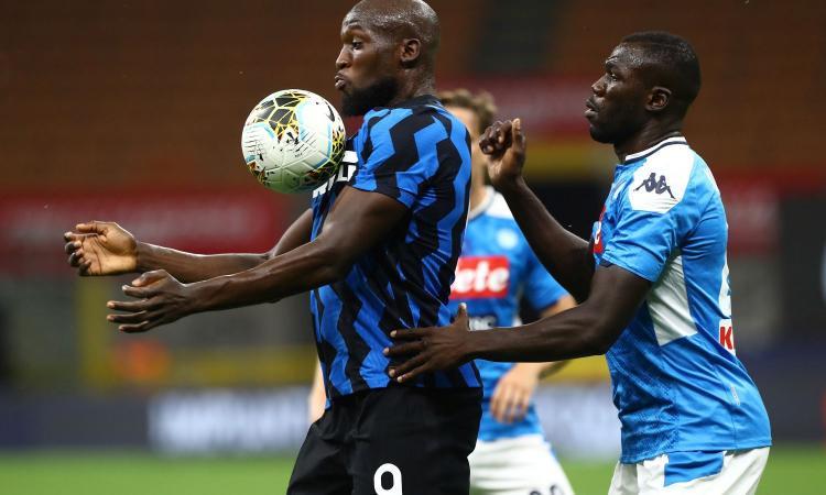 Lukaku contro Koulibaly è la chiave di Napoli-Inter: la partita a scacchi tra Conte e Gattuso
