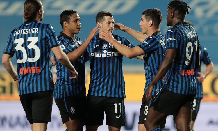 Muriel-Malinovskyi da Champions, 5-0 Atalanta al Bologna: Gasperini supera il Milan ed è 2°