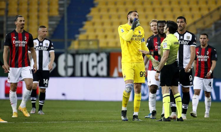 Maresca non arbitrerà il Milan per un po': la gestione del rosso a Ibrahimovic non è piaciuta ai vertici arbitrali